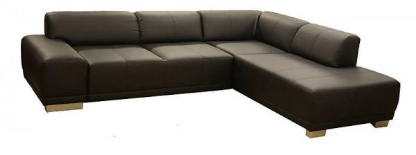 Design L Couch Eck Couch In Schwarz Couchgarnitur Modell Malibu
