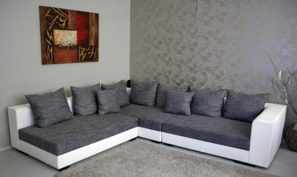 """Design Riesen Wohnlandschaft Big Sofa XXL Modell """"Ramires"""""""