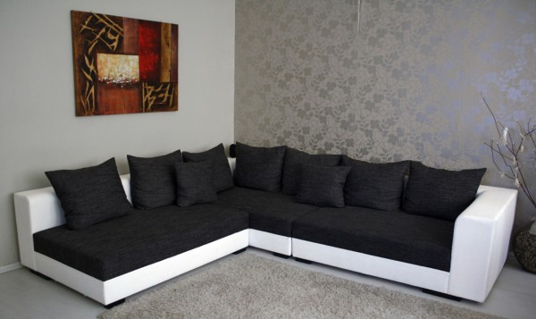 """Design Riesen Wohnlandschaft Big Couch XXL Modell """"Ramires"""""""