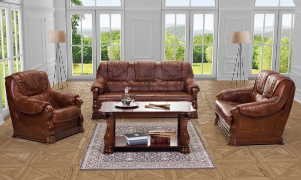 "3-2-1 Sitzgarnitur Sofa Modell ""Sheffield"""