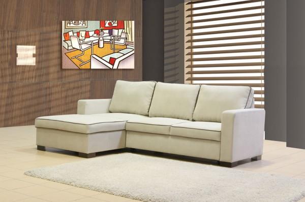 """Kleines Ecksofa mit Funktion Modell """"Madrid"""" (237 x 152 cm)"""