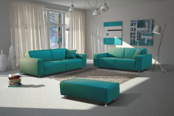 "3-2-1 Sitzgarnitur Sofa Modell ""Florenz"""
