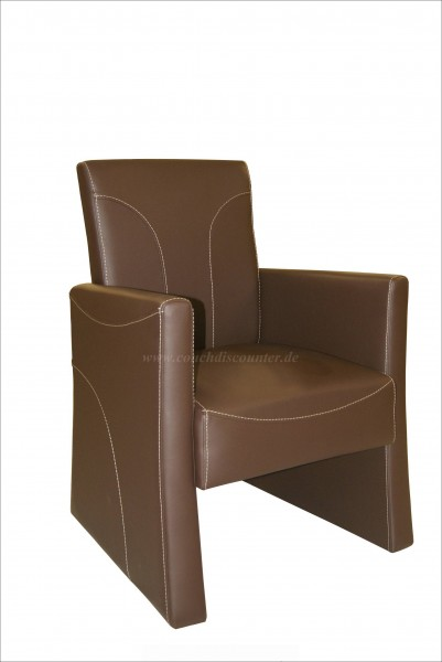 """Cocktailsessel Sessel Clubsessel Loungesessel Modell """"Texana"""""""