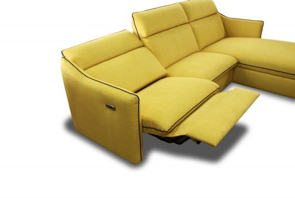 """Ecksofa mit elektrischer Relax Funktion Modell """"Comfort"""" Farbe und Bezug frei wählbar!"""
