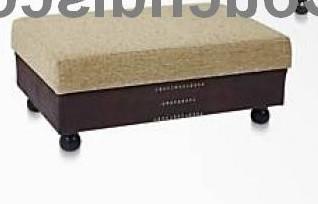 Hocker für Big Sofa Afrika / Kolonialstil Farbe frei wählbar!